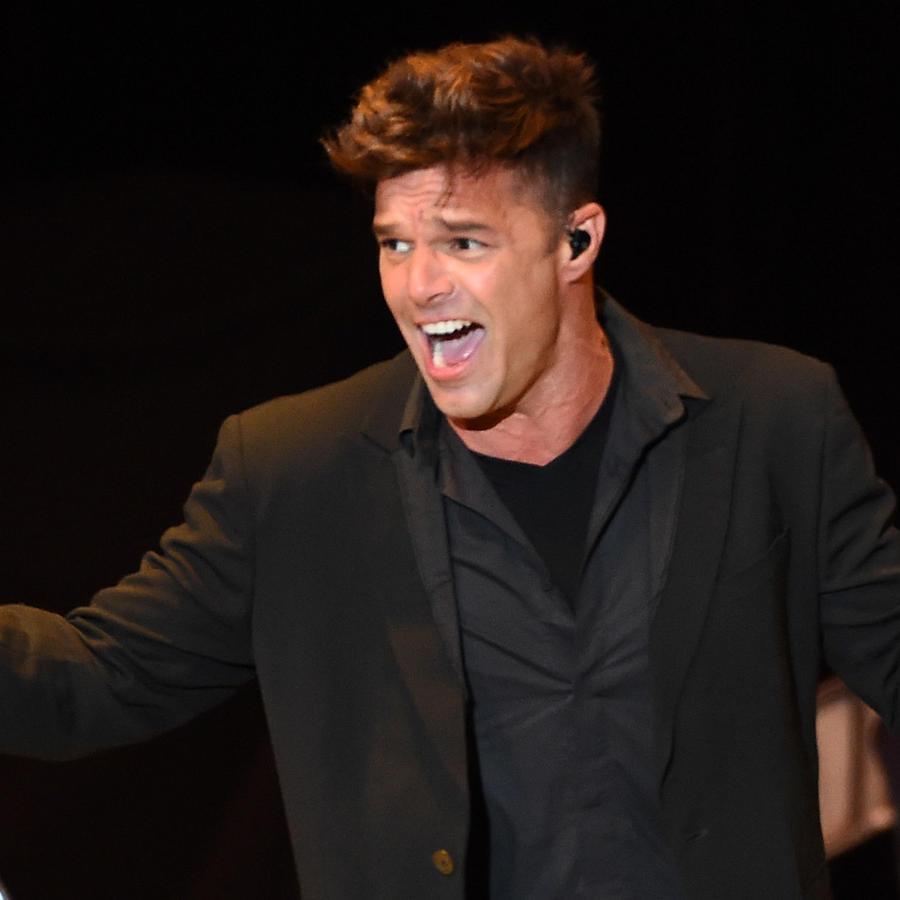 """Ricky Martin en el evento """"She's With Us"""" en Los Angeles"""