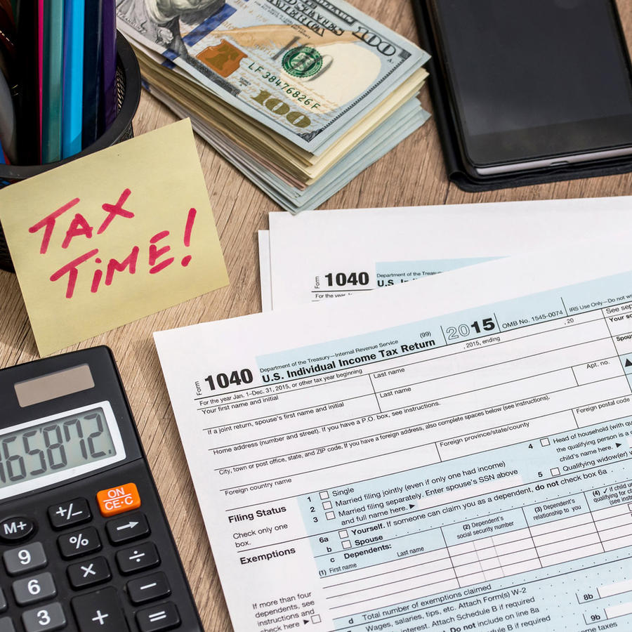 Preparación para hacer la declaración de impuestos