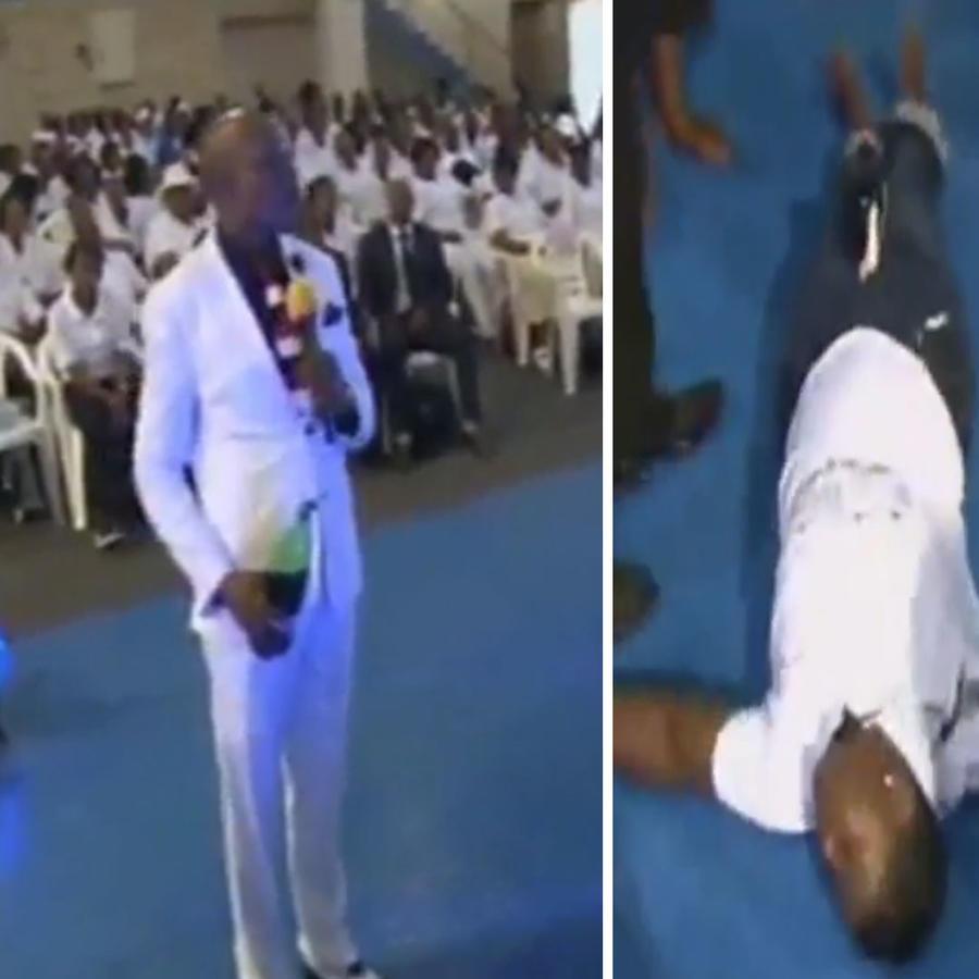 Pastor asegura haber eliminado las verrugas vaginales de una mujer usando su zapato sagrado