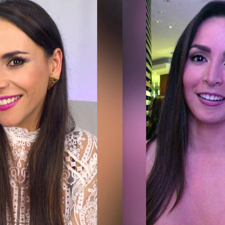 Guerra de piropos, Carolina Gaitán, Carmen Villalobos