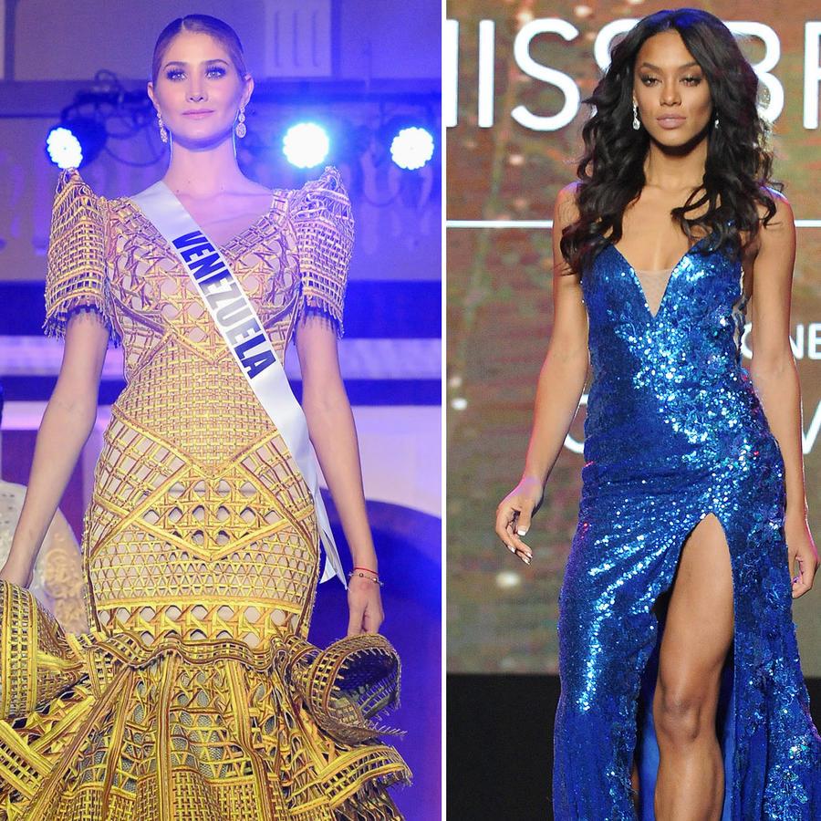 Varias concursantes de Miss Universo 2017