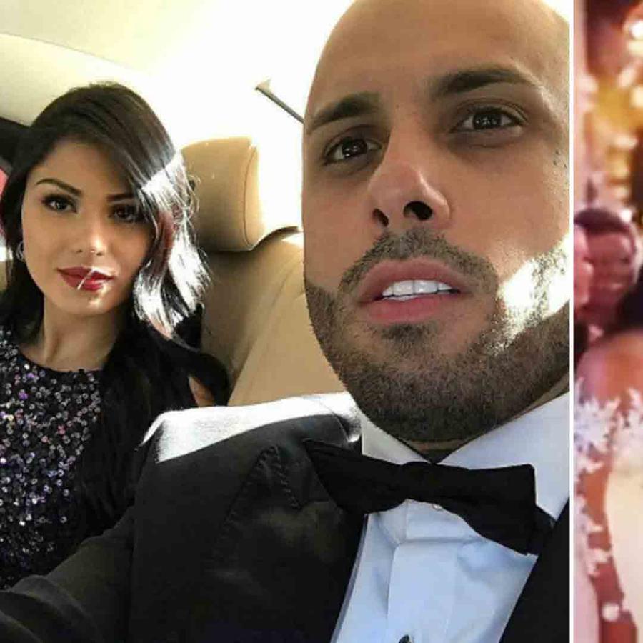 Nicky Jam y Angélica Cruz se casaron