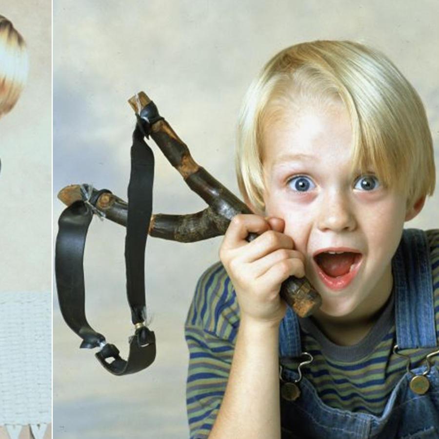 Mira cómo ha cambiado el niño de Daniel el Travieso