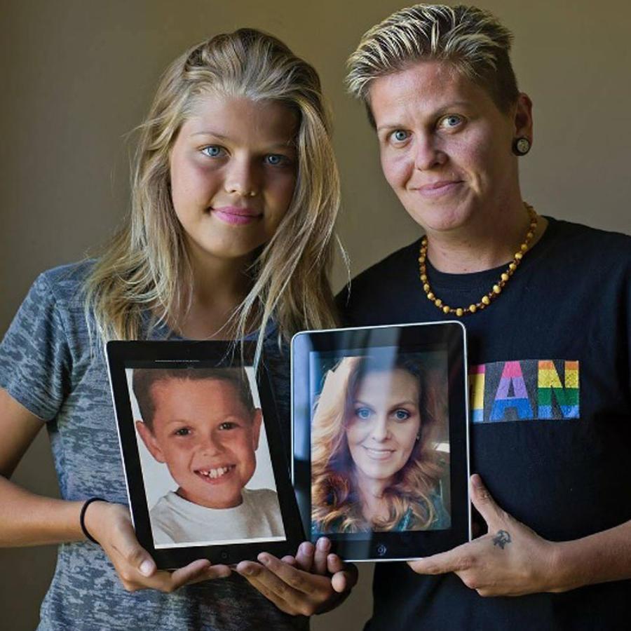 Familia transgenero