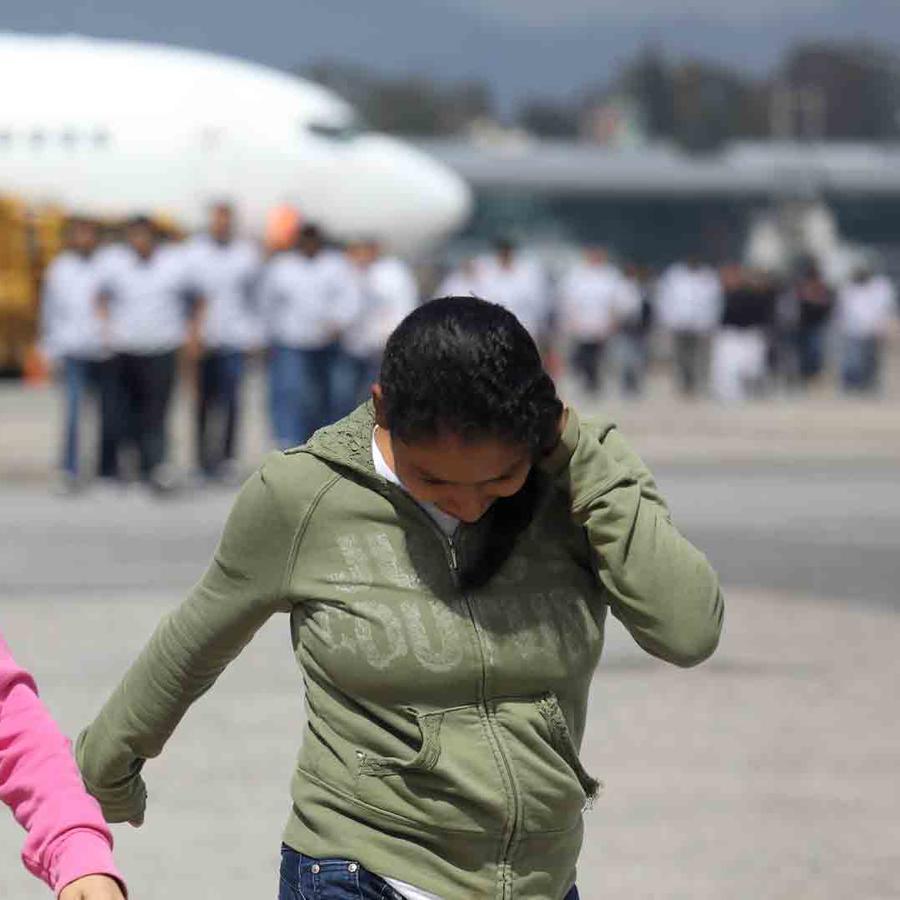 Mujeres deportadas
