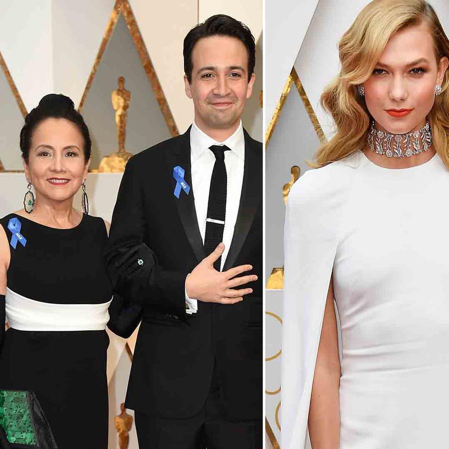 Ruth Negga, Karlie Kloss, Lin Manuel Miranda en los Oscar 2017