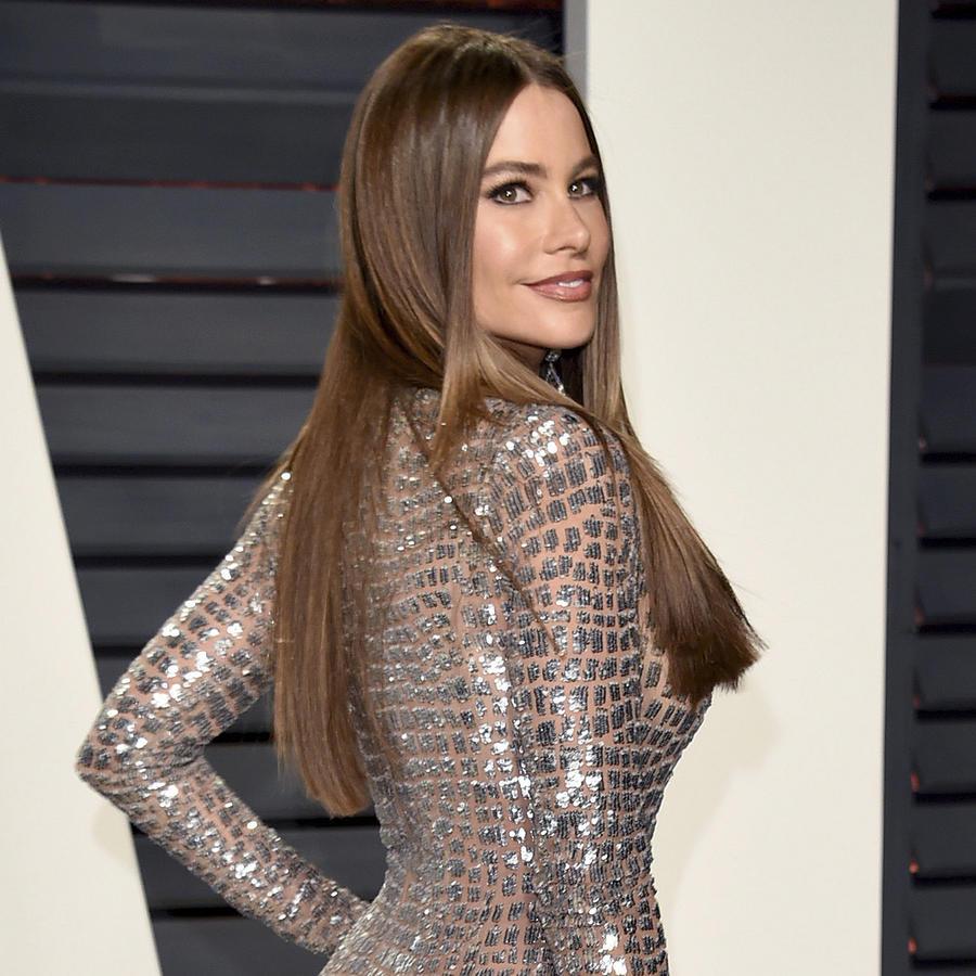 Sofía Vergara en la fiesta de Vanity Fair 2017