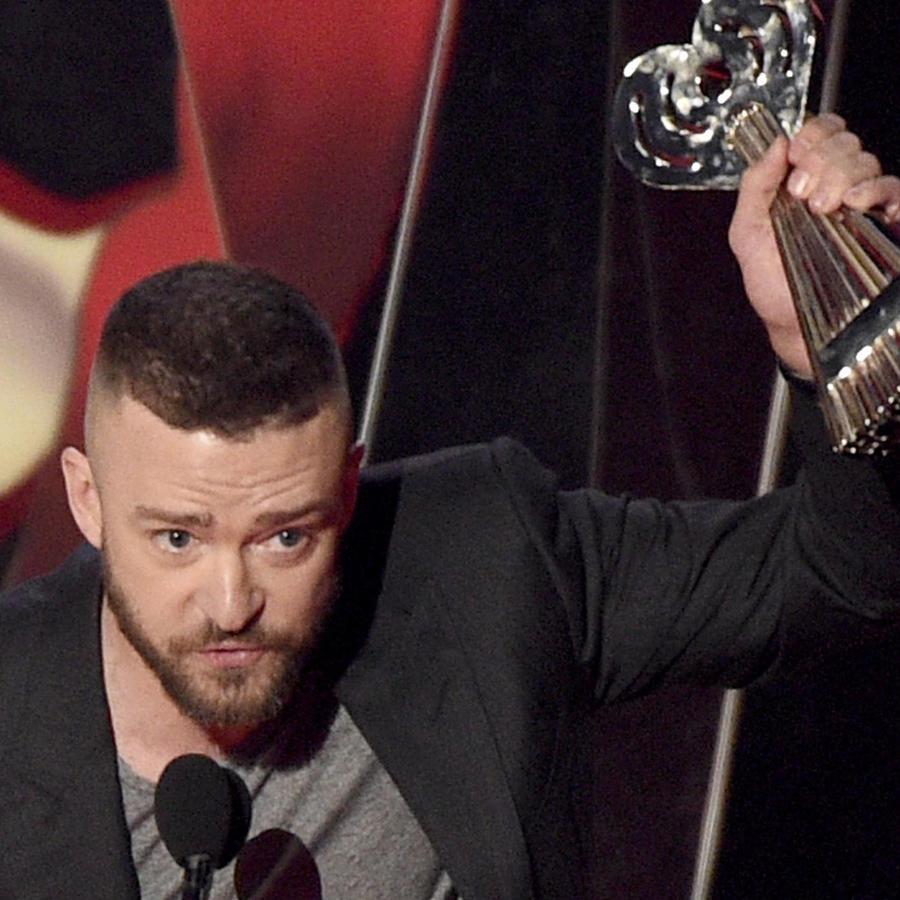 Justin Timberlake en los iHeart Music Awards 2017