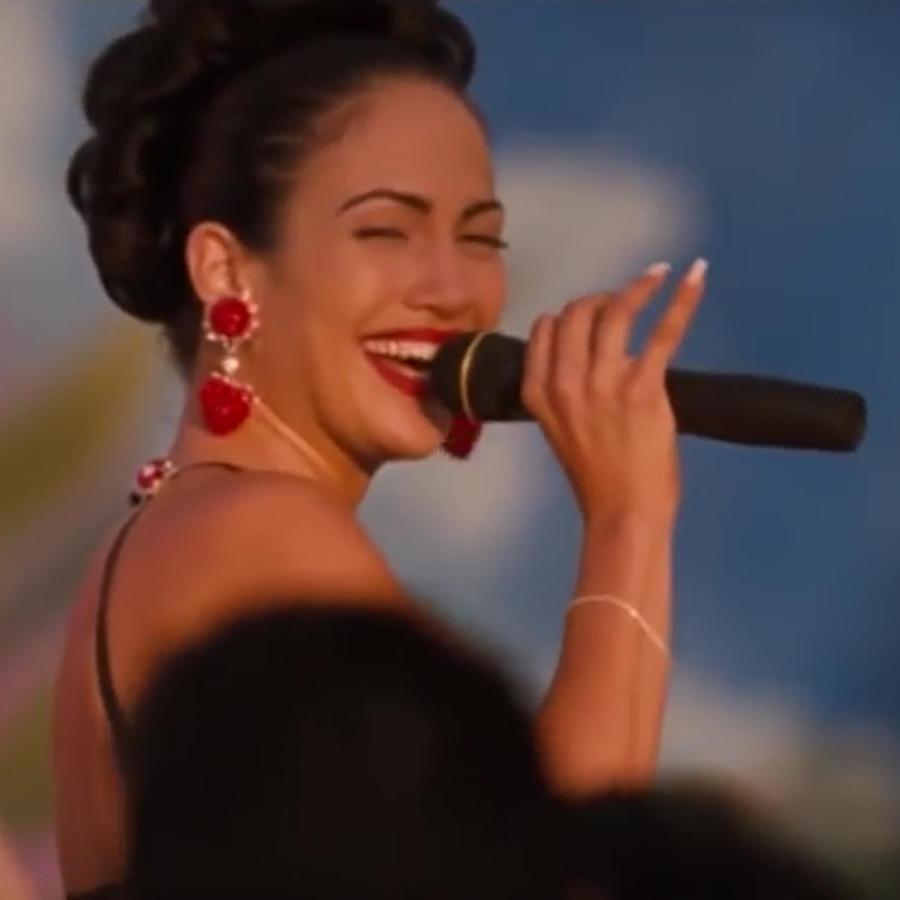 "Jennifer Lopez, en la película ""Selena"""