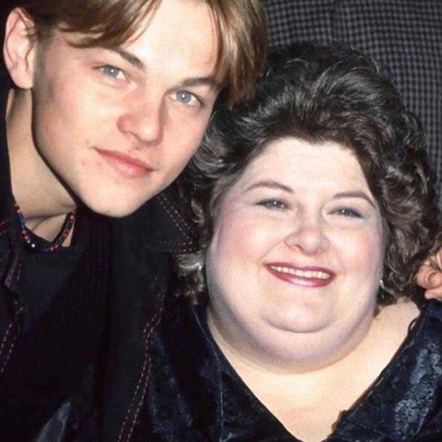 Leonardo DiCaprio y Darlene Cates en 1993