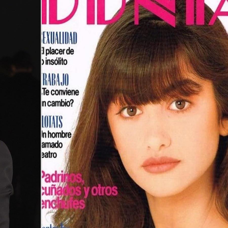 Penélope Cruz recuerda su primera portada de revista