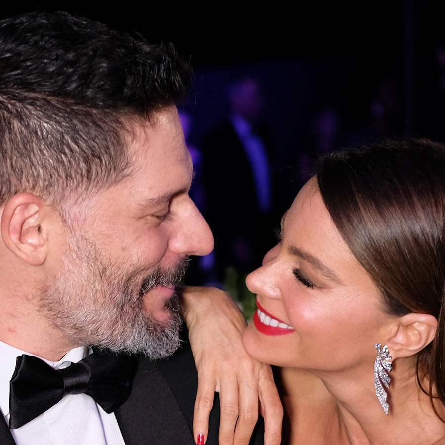 Sofía Vergara y Joe Manganiello en la 23ª entrega anual de los Screen Actors Guild Awards, Los Ángeles, en 2017