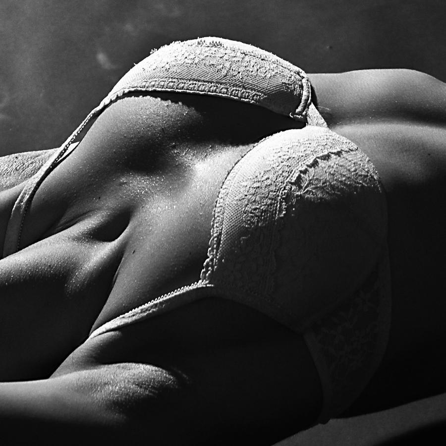 Mujer en lencería