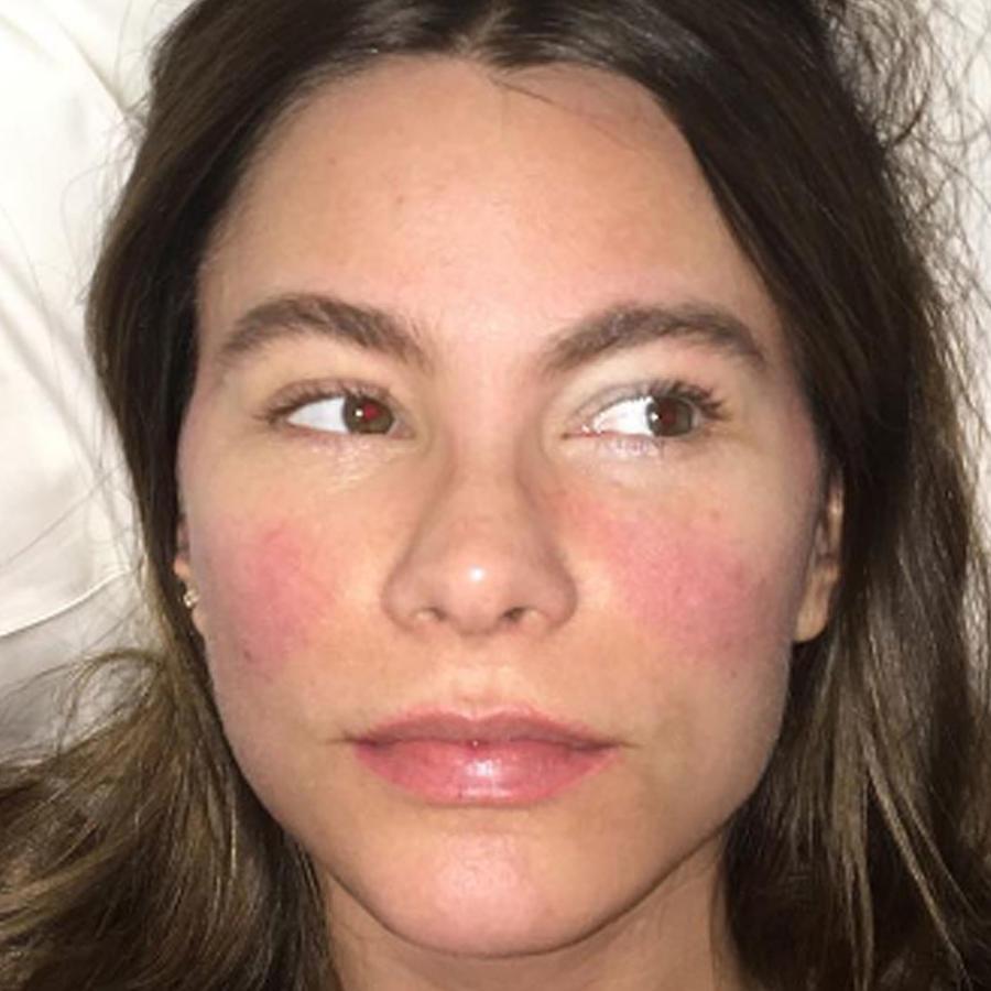 Sofía Vergara se reporta con fiebre