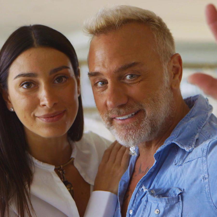 Gianluca Vacchi y Giorgia Grabiele