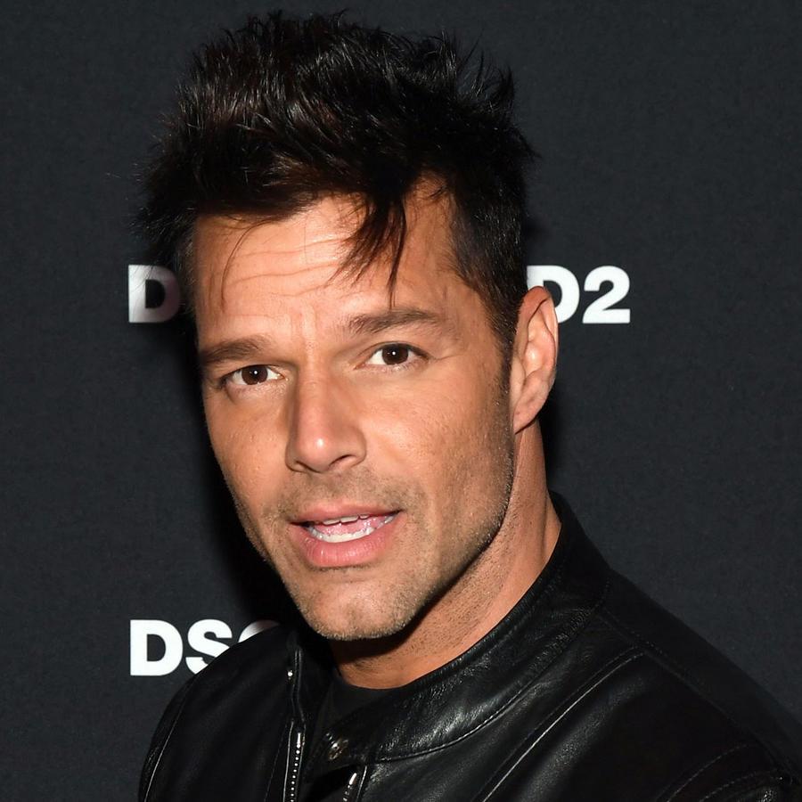 Ricky Martin en un evento en Las Vegas