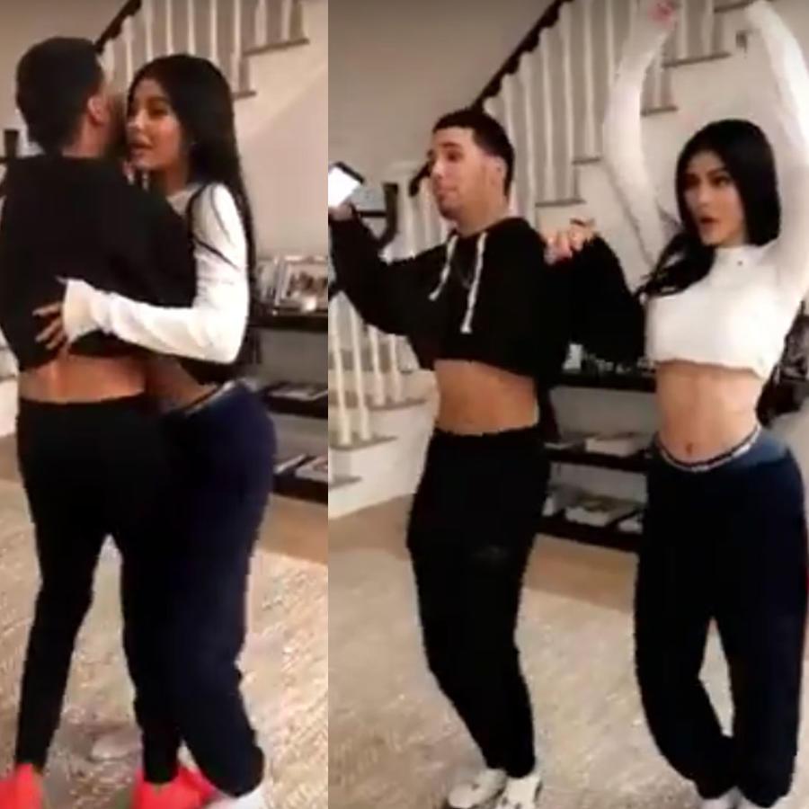 Kylie Jenner bailando merengue