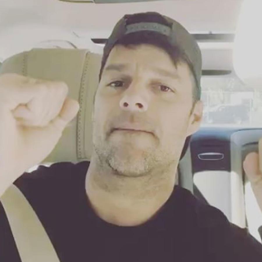 """Ricky Martin bailando """"Despacito"""""""