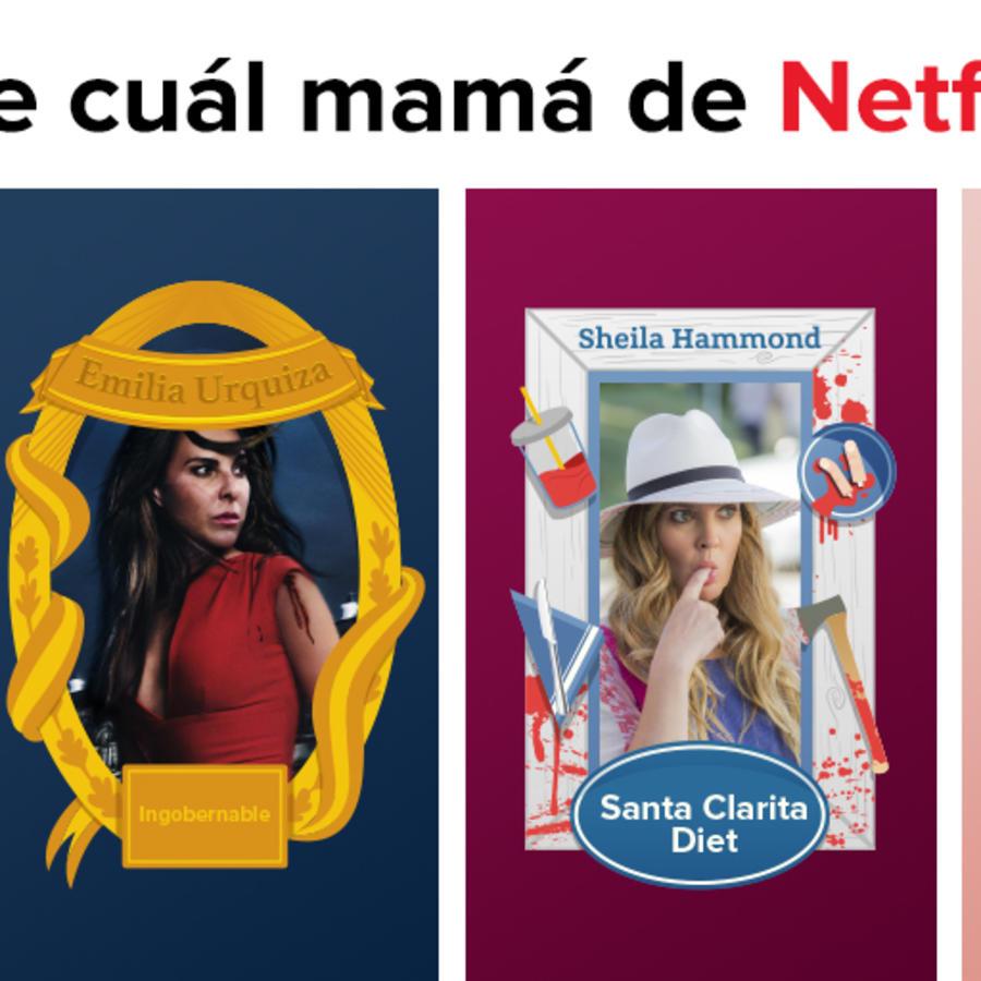¡Descubre cuál mamá de Netflix eres!