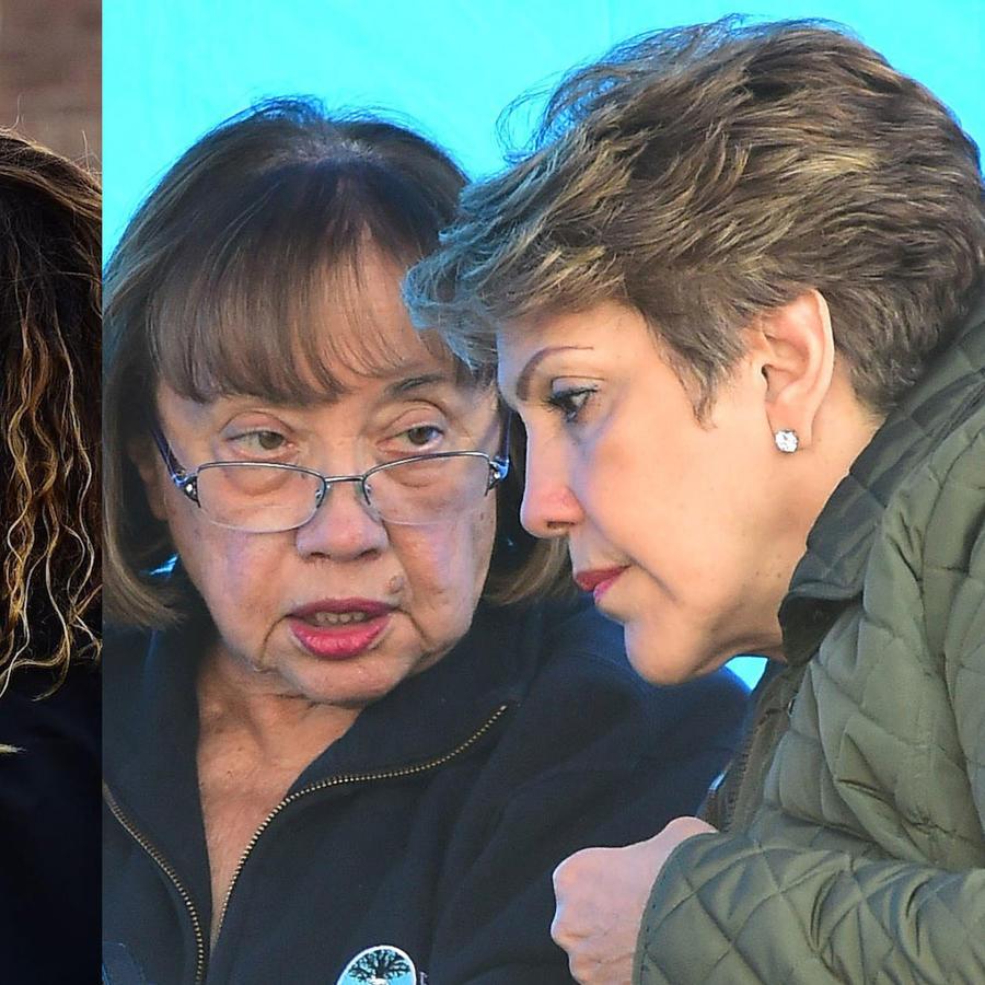 La mamá de Jennifer Lopez y la de Alex Rodriguez la visitan en el set como mejores amigas