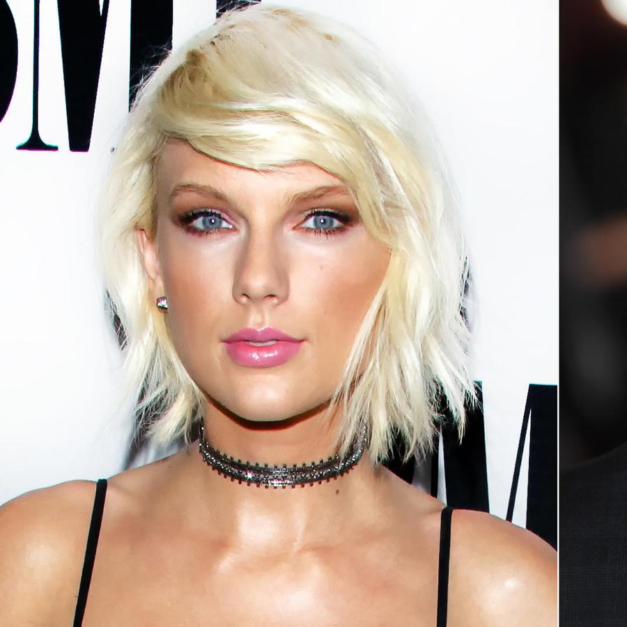 Taylor Swift y Joe Alwyn posando