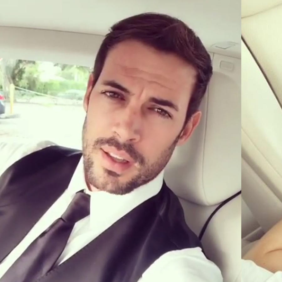 William Levy y su hija asisten al mejor baile de su vida