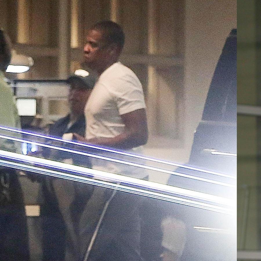 Jay Z fue a ver por primera vez a su esposa Beyoncé después de que dio a luz a sus gemelos