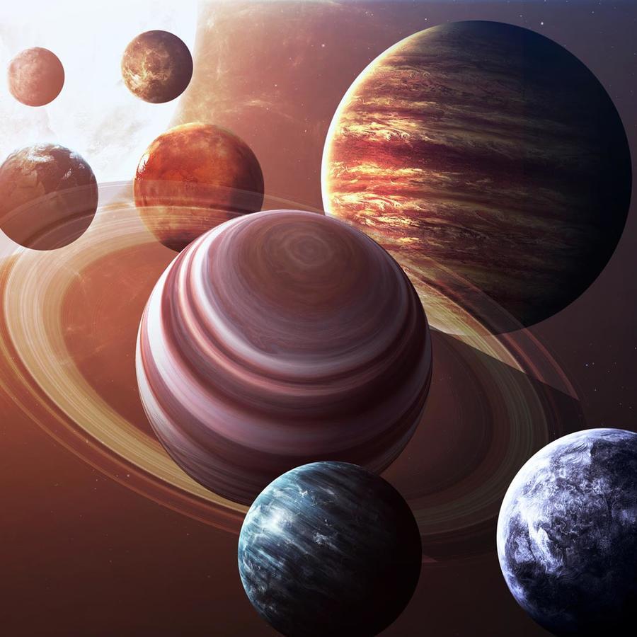 Planetas del sistema solar
