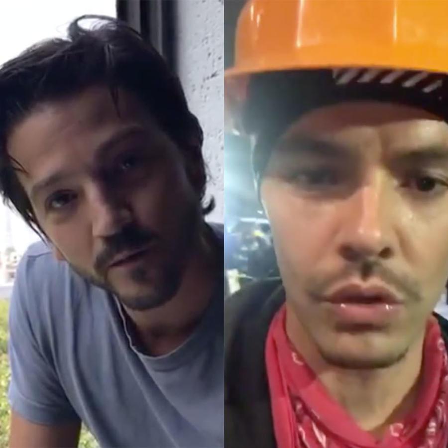 Diego Luna and Jesse Huerta