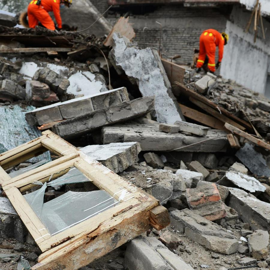 Edificio derrumbado