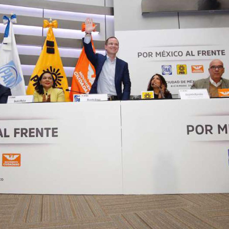 El precandidato presidencial de México, Ricardo Anaya