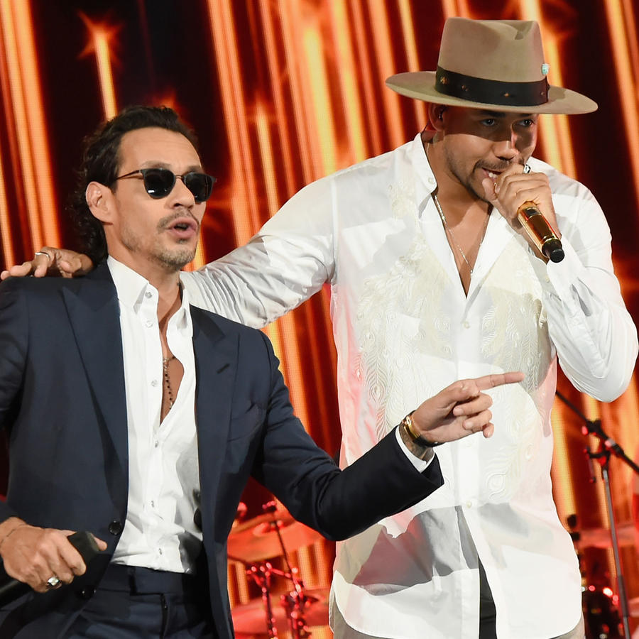 Marc Anthony y Romeo Santos One Voice: Somos Live! A Concert For Disaster Relief - Miami