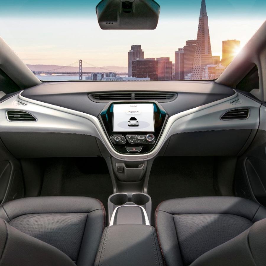 Cruise, el coche sin coductor desarrollado por General Motors.
