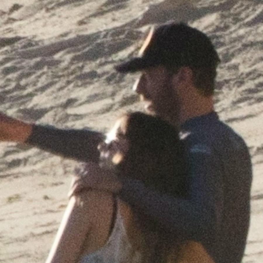 Dakota Johnson con Chris Martin