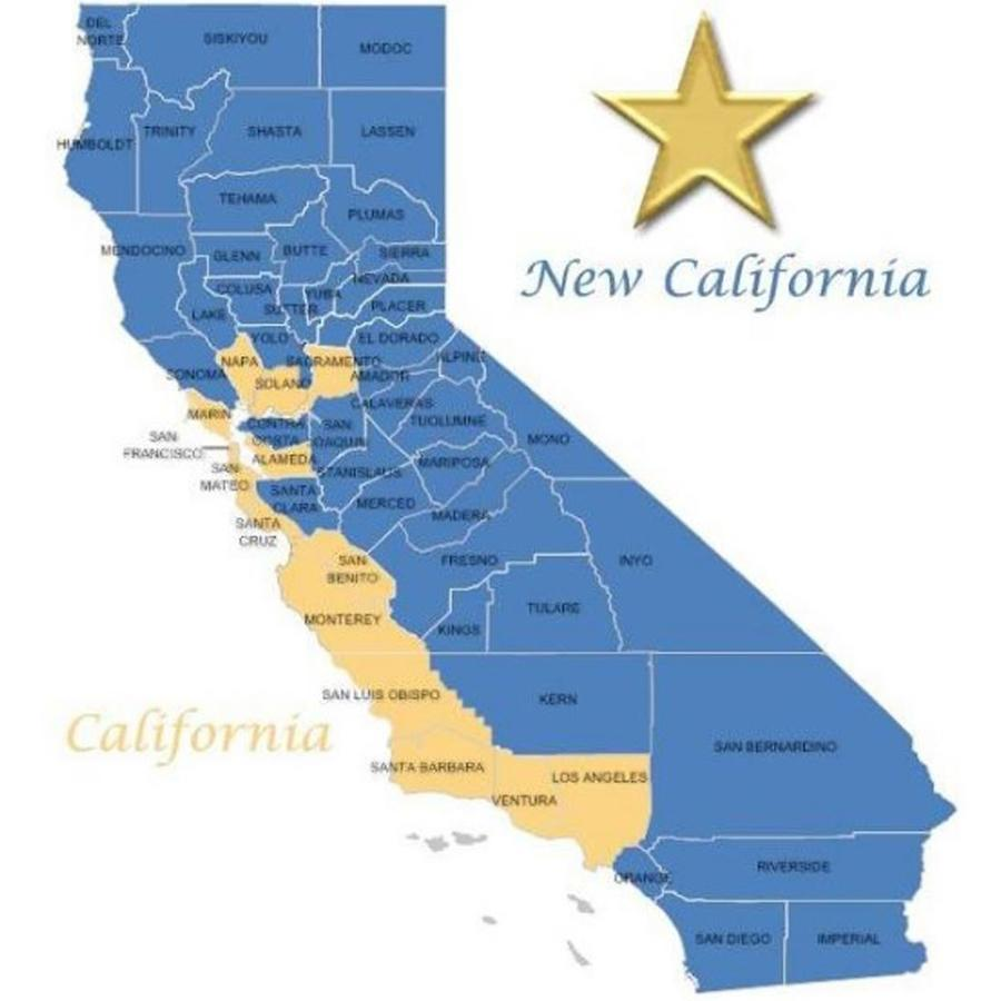 Mapa de New California