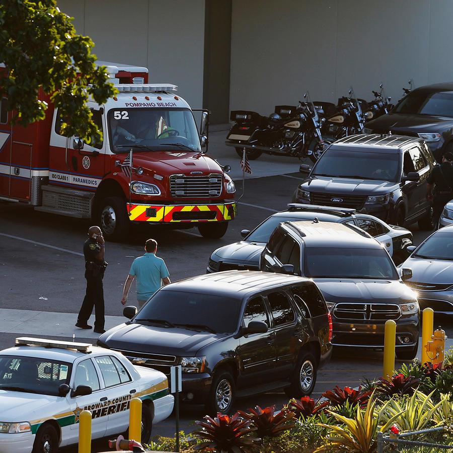Hospital en el que se encuentran los heridos de la masacre en secundaria de Florida