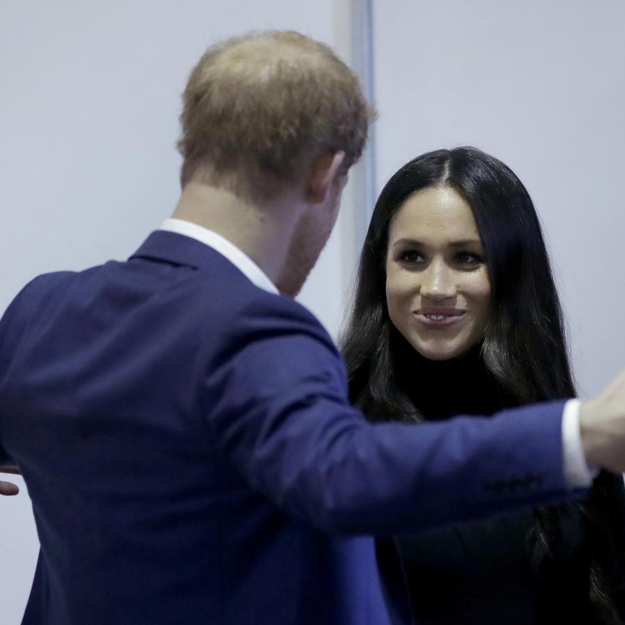 El príncipe Harry y Meghan Marklee en un acto público en Inglaterra el pasado 1 de diciembre.