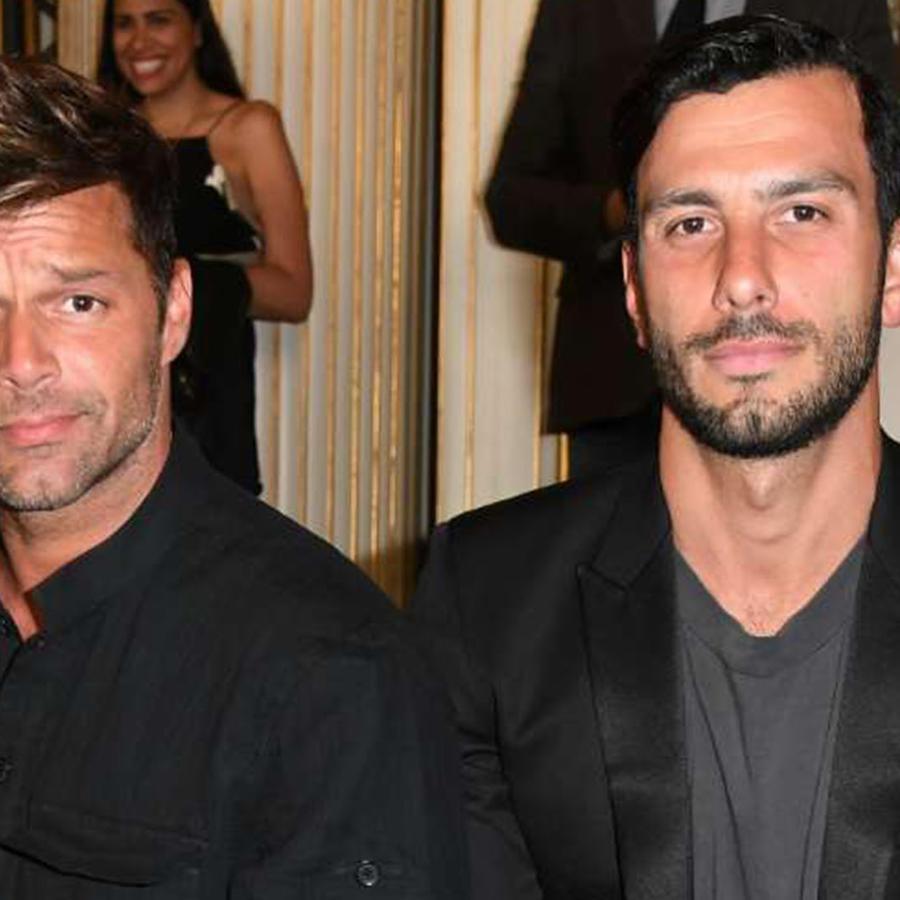 Ricky Martin comparte una foto con su esposo