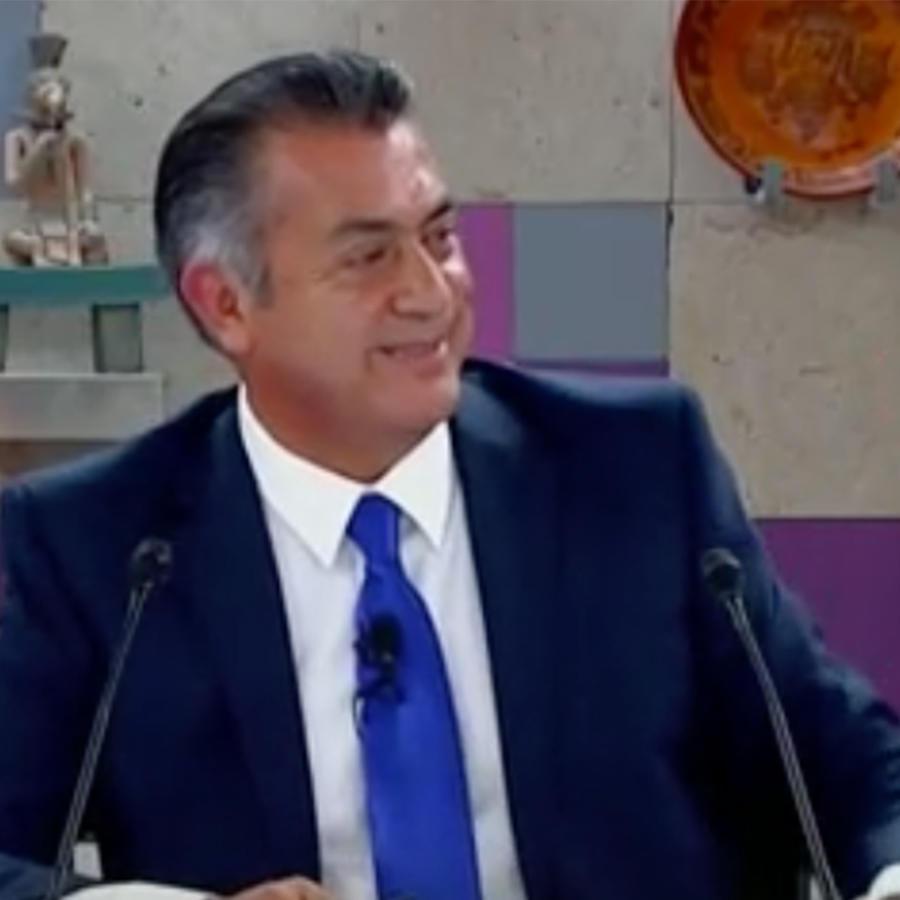 El candidato presidencial mexicano Jaime Rodríguez 'El Bronco' en el último debate