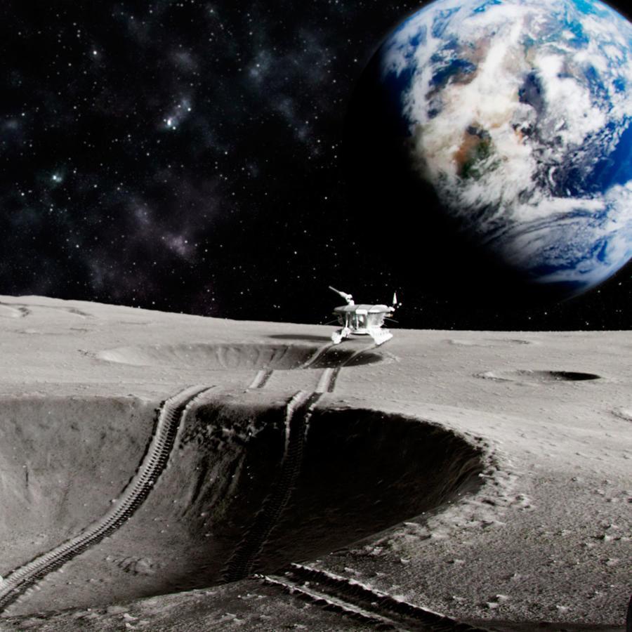 Expedición en la Luna