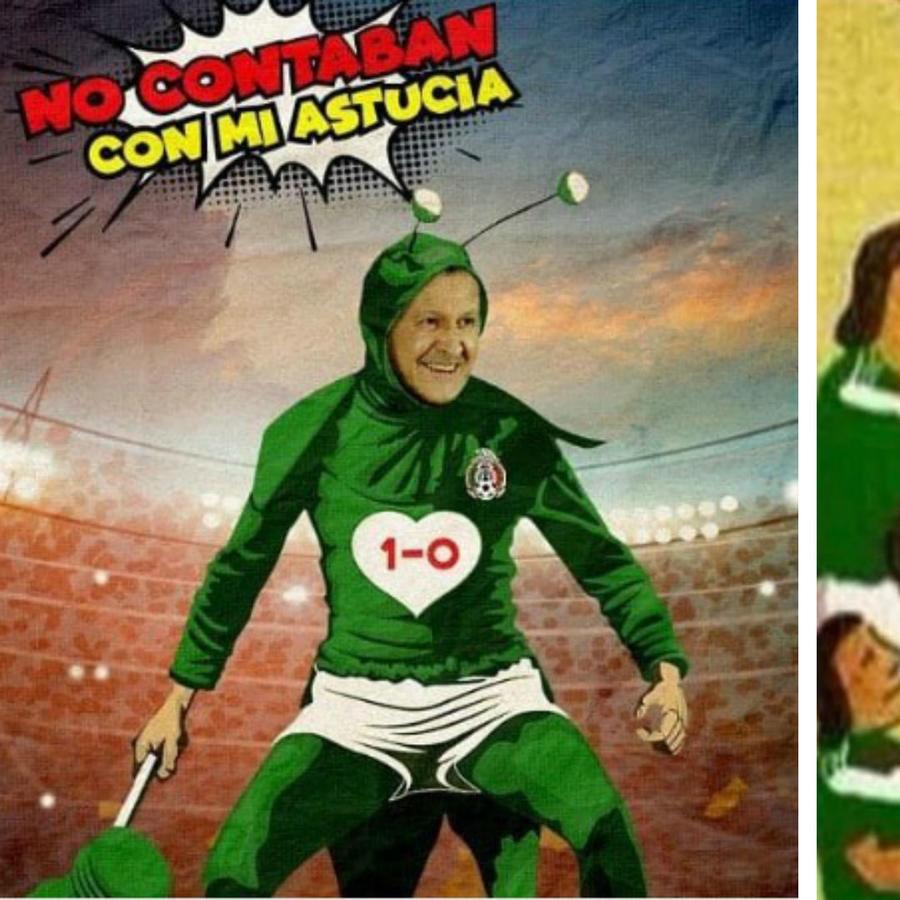 Memes México vs Alemania