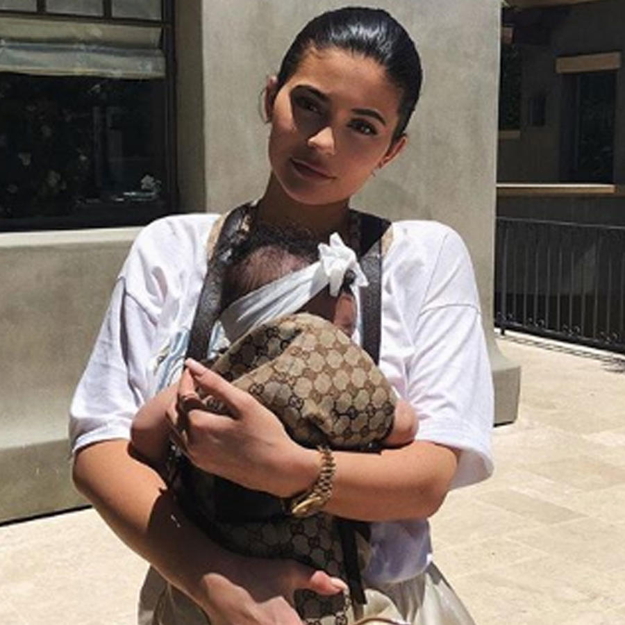 Kylie Jenner con Stomi