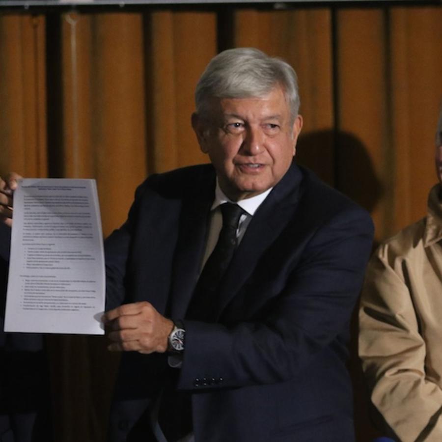 El próximo presidente de México, Andrés Manuel López Obrador