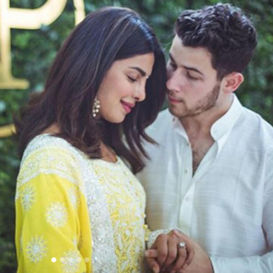 Priyanka Chopra con Nick Jonas
