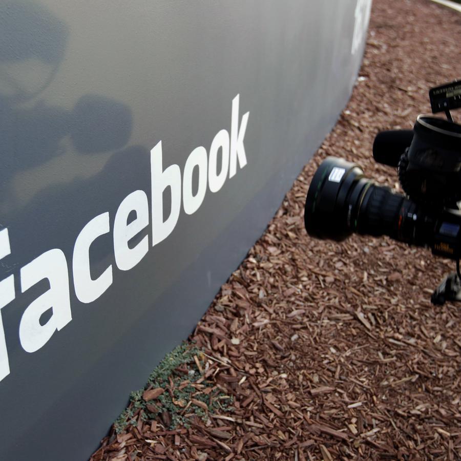 Sede de Facebook en California.