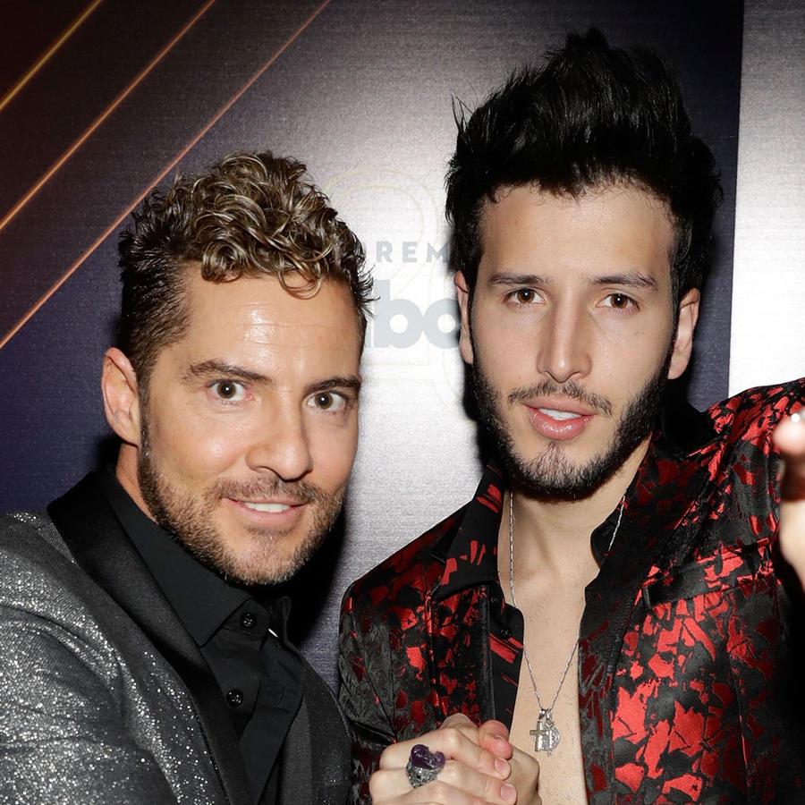 David Bisbal y Sebastián Yatra en Billboard Latin Music Awards 2018