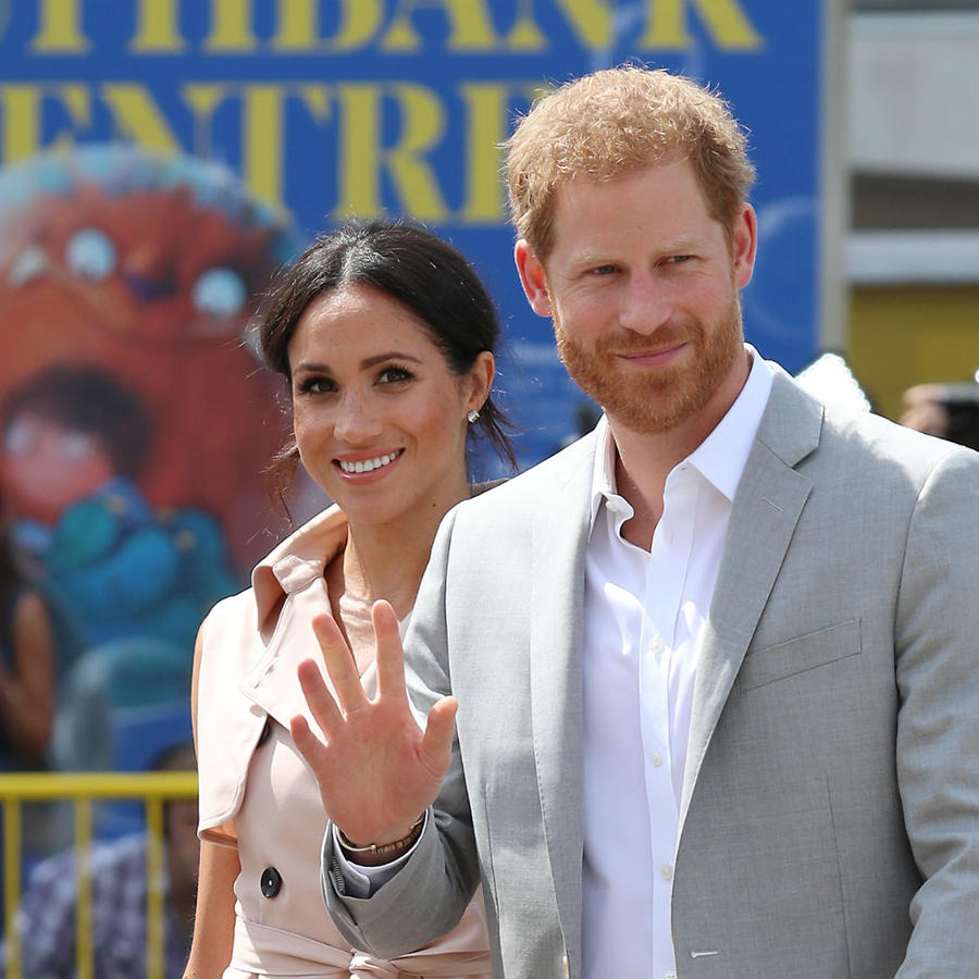 Meghan Markle y el principe Harry en Sussex