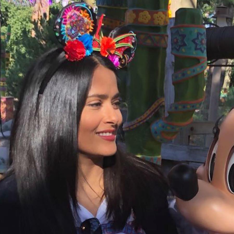 Salma Hayek en Disney