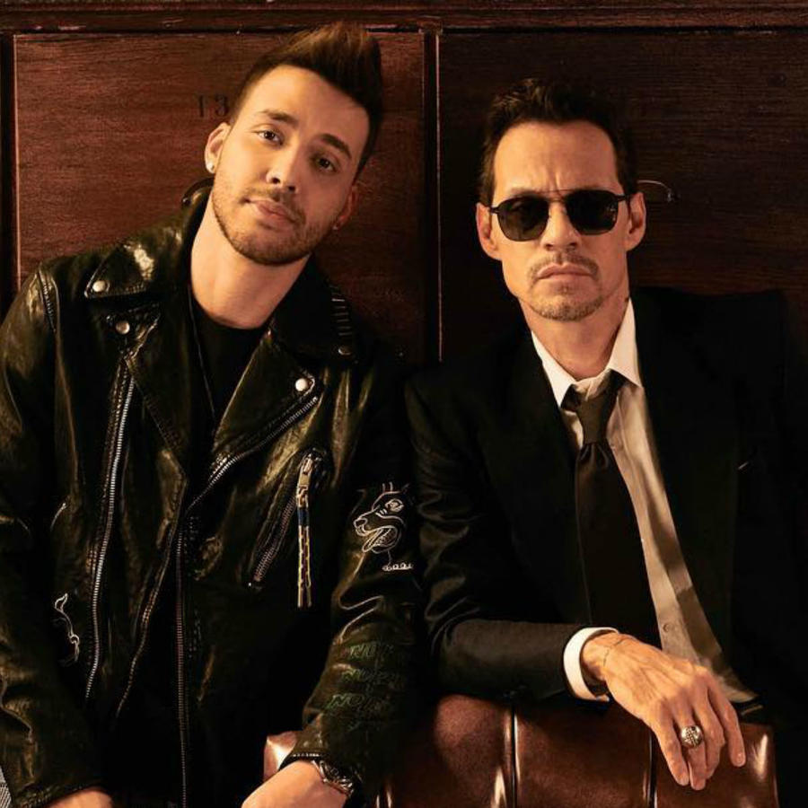 Prince Royce con Marc Anthony