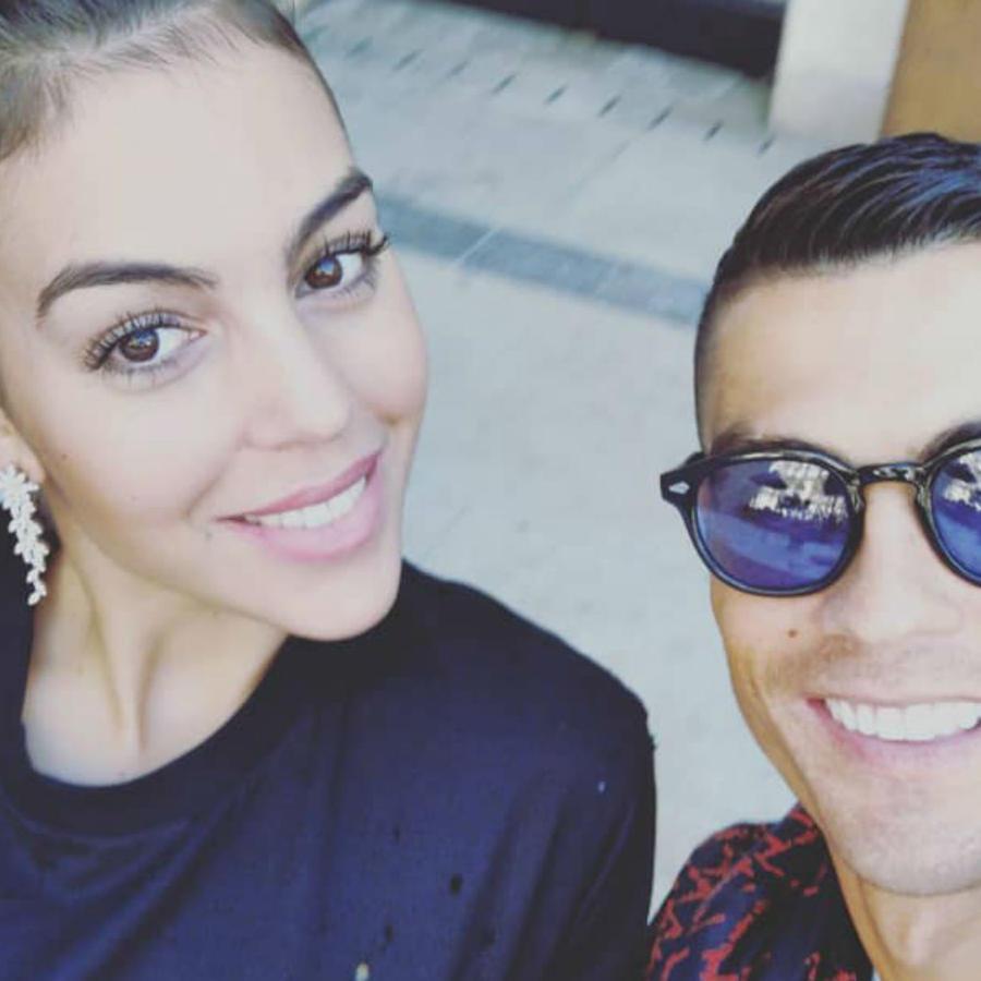 Cristiano Ronaldo con Georgina Rodriguez